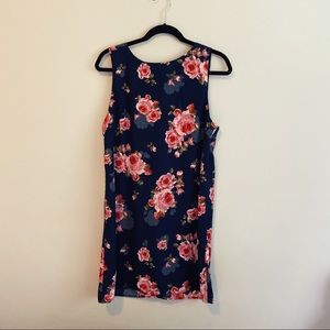 🆕 One Clothing   Navy Floral Shift Dress